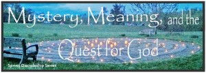 Quest for God Website slide