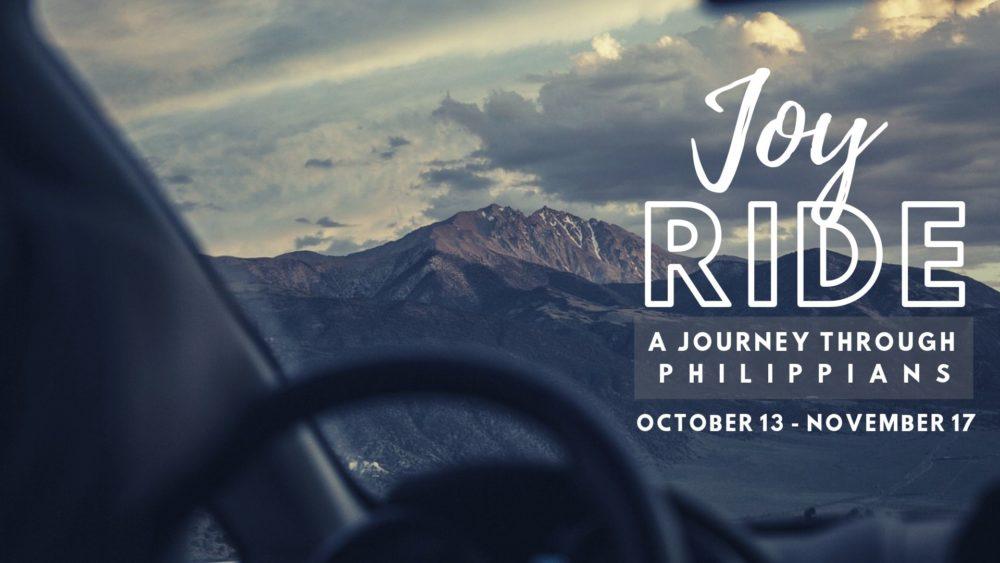 Joy Ride: A Journey Through Philippians
